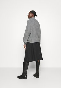 Zign - Half zip jumper - Strickpullover - mid grey - 2