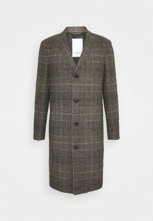 MADISON CHECK COAT - Klasický kabát - grey