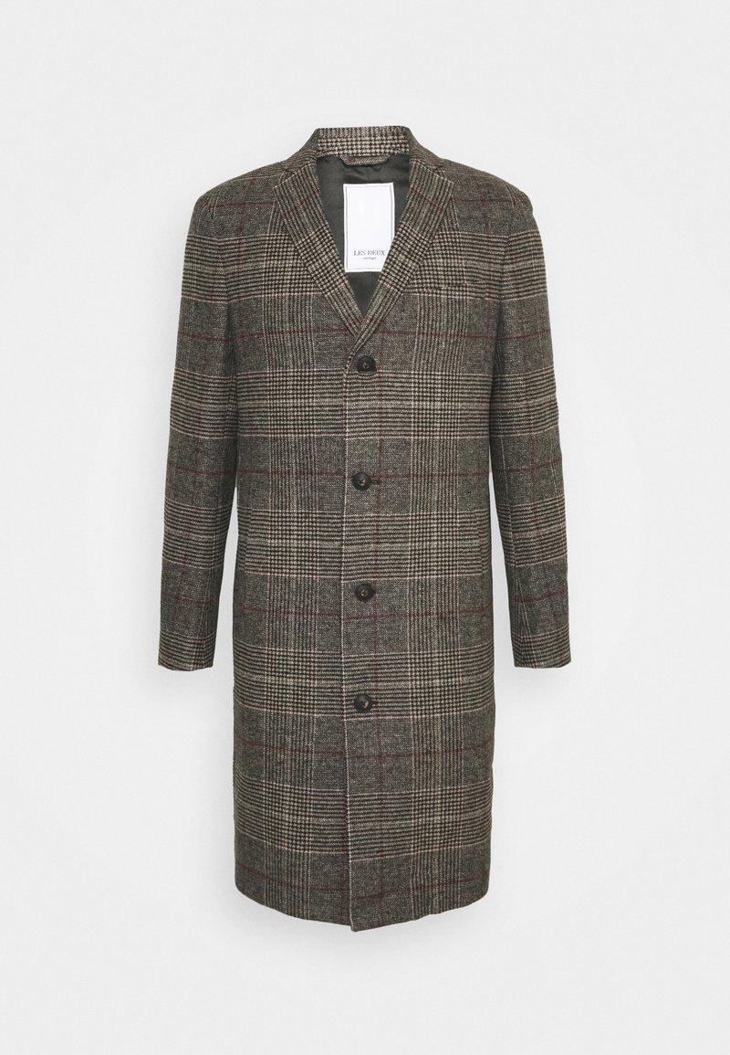 Les Deux - MADISON CHECK COAT - Classic coat - grey