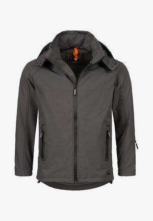 Soft shell jacket - dunkelgrau