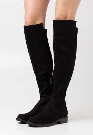 RANIELA - Over-the-knee boots - black