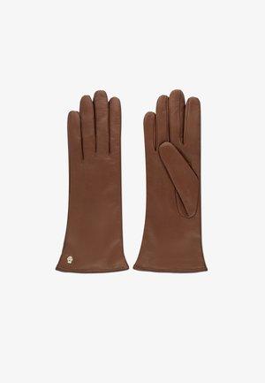 Gloves - cognac