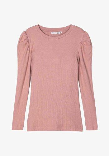 NOOS - Langærmede T-shirts - woodrose