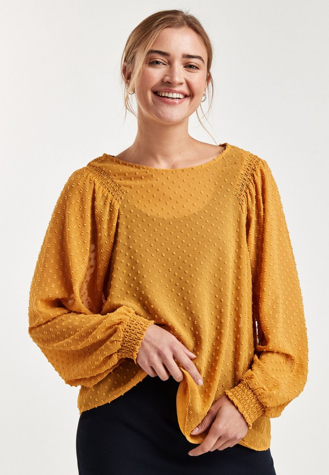 FILL COUPE SMOCK  - Blouse - yellow