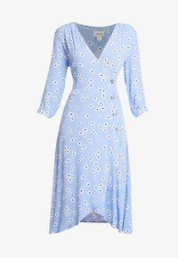 Monki - TORYN DRESS - Shirt dress - blue dusty light - 5