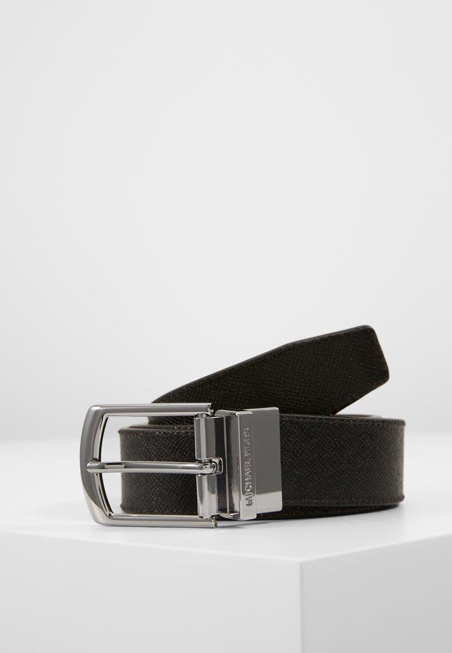 BELT BOX SET - Pásek - black/mocha