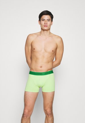 JACMANUEL TRUNKS 3 PACK - Pants - meduim green/jade lime