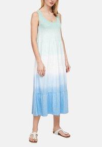 s.Oliver - Jerseyjurk - turquoise tie dye - 3