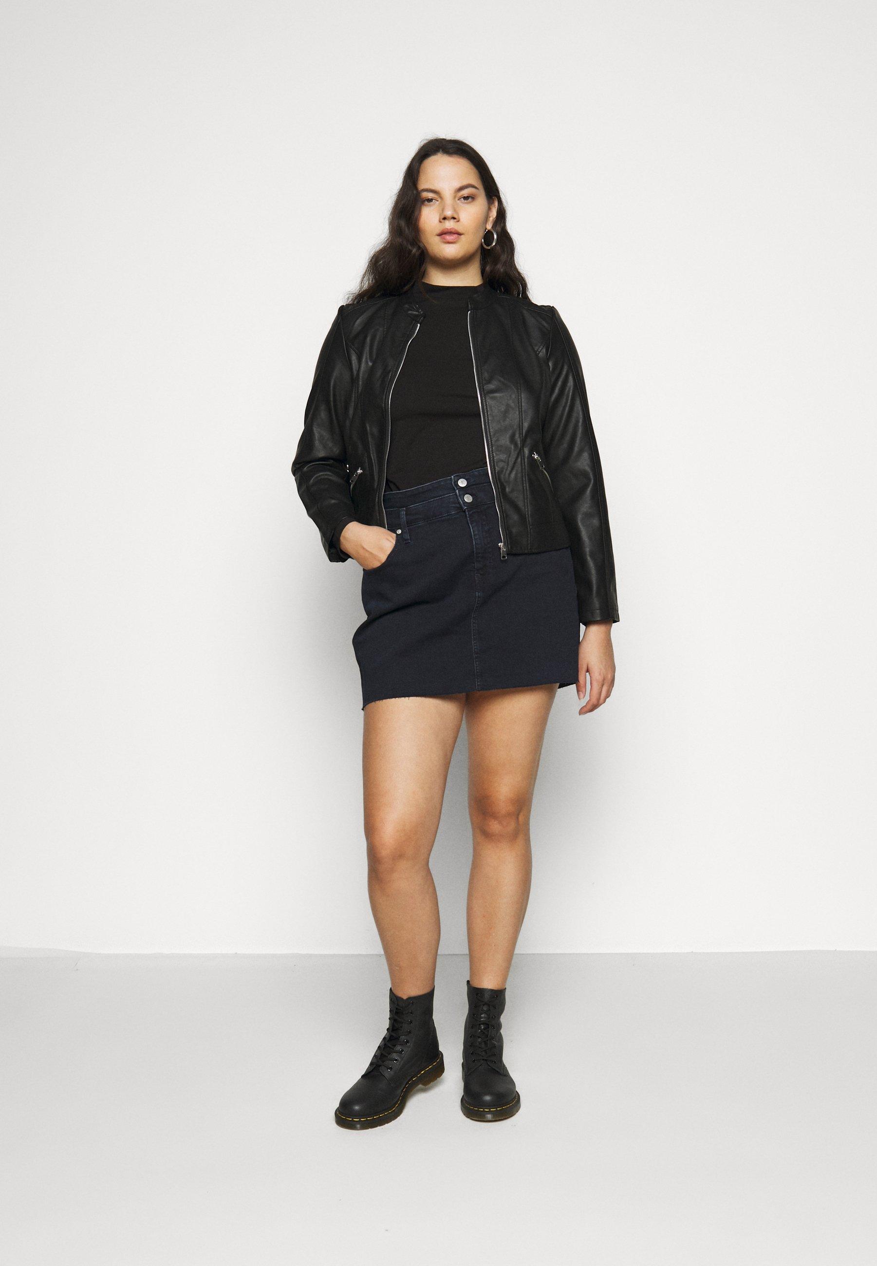 Even&Odd Curvy Langærmede T-shirts - black -  2Lbi6