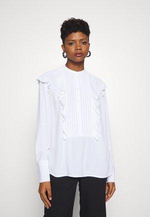 AZILIA - Button-down blouse - pure white