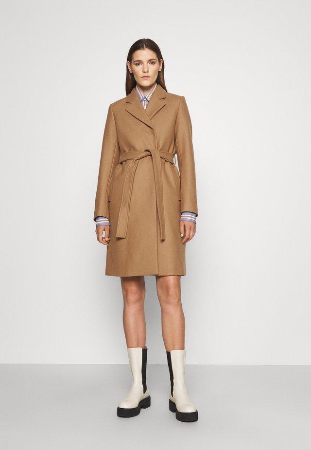 KAYA COAT - Klasický kabát - dark khaki