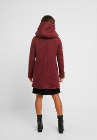 ONLY Petite - ONLSEDONA COAT - Short coat - merlot/melange - 2
