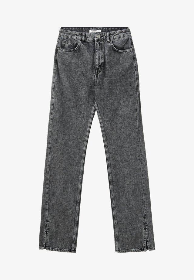 Jeans bootcut - dark grey