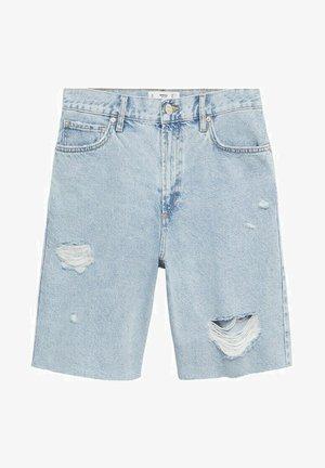 BERMUDA  - Jeansshort - light blue