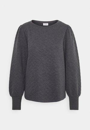JDYBOLIVIA QUILTED  - Long sleeved top - dark grey melange