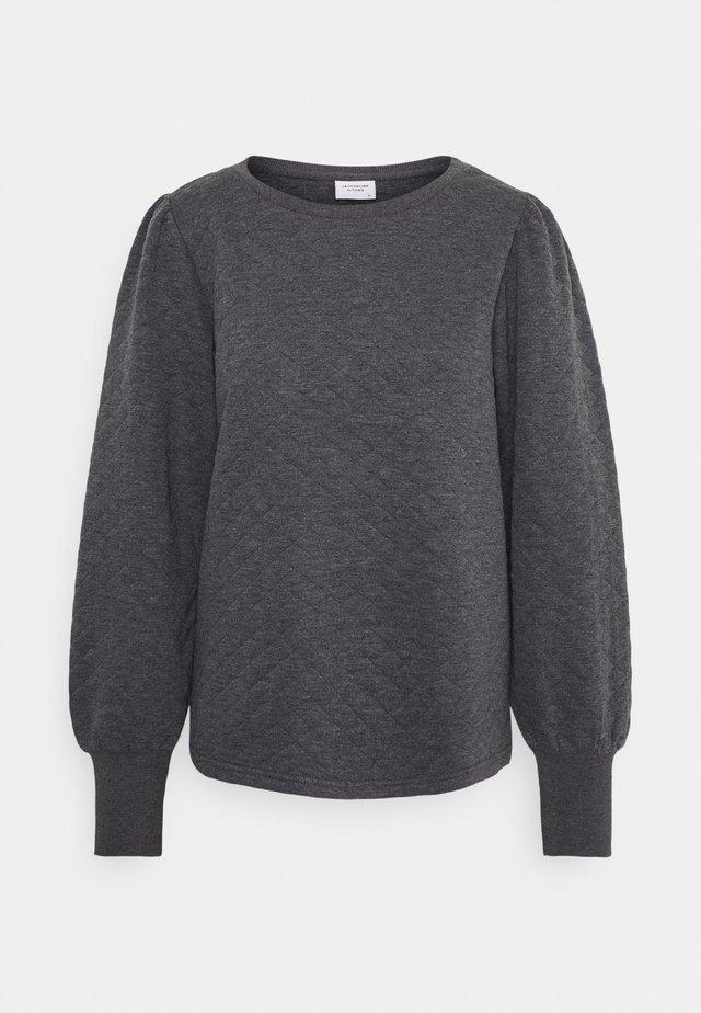JDYBOLIVIA QUILTED  - Långärmad tröja - dark grey melange