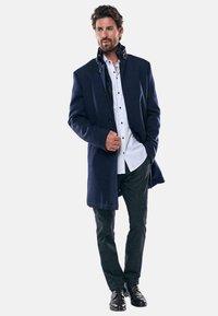 Engbers - Classic coat - blau - 1