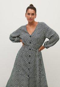 Violeta by Mango - LEOPARD7 - Shirt dress - ecru - 2