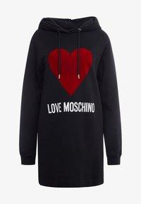 Love Moschino - DRESS - Day dress - black - 5