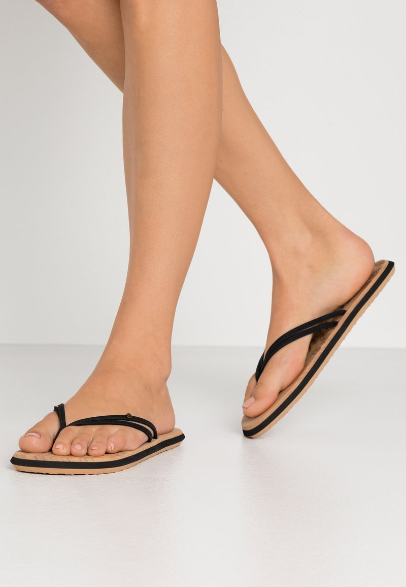 O'Neill - DITSY - T-bar sandals - black out
