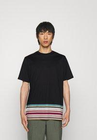 Paul Smith - OVERSIZE - T-shirt print - black - 0