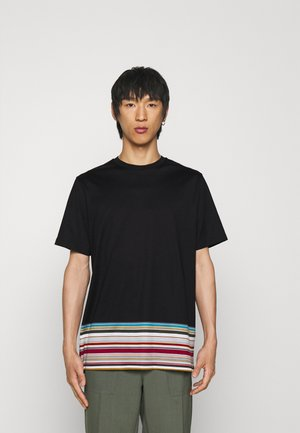 OVERSIZE - T-shirt med print - black