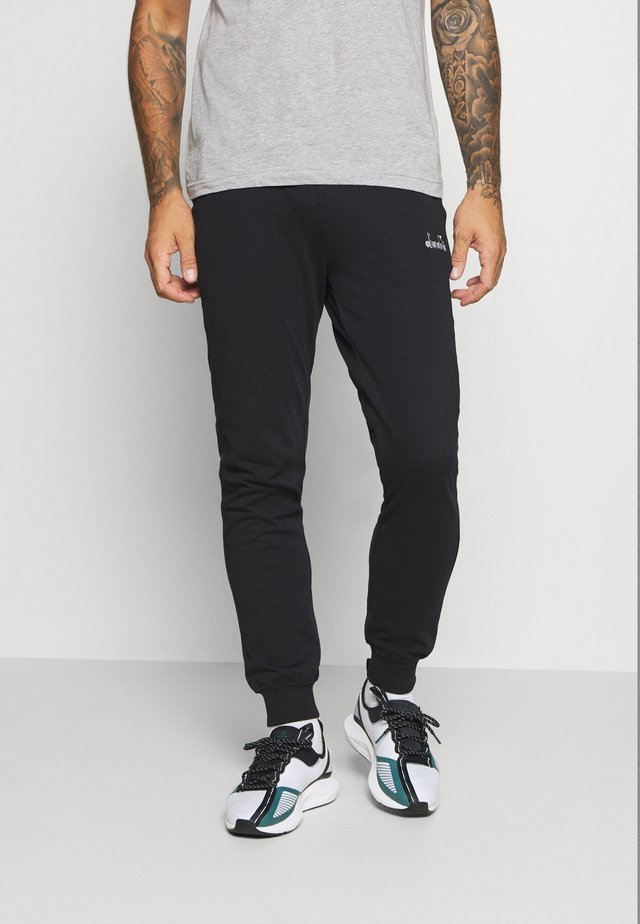 CUFF PANTS CORE LIGHT - Tracksuit bottoms - black