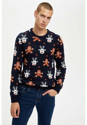 CHRISTMAS - Jumper - navy