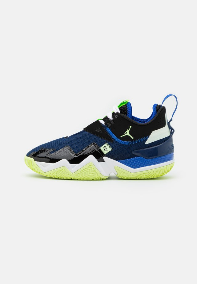 WESTBROOK ONE TAKE - Indoorskor - black/barely volt/hyper royal/blue void/white