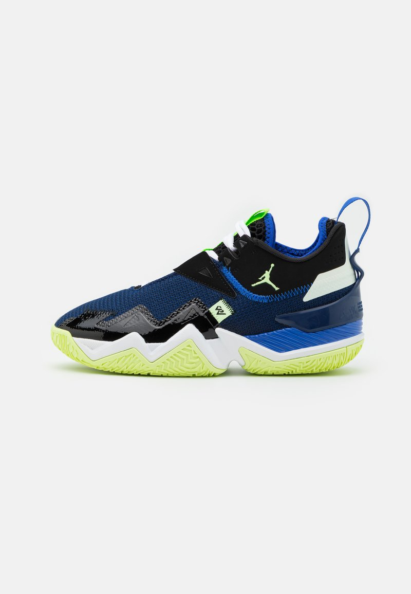 Jordan - WESTBROOK ONE TAKE - Basketball shoes - black/barely volt/hyper royal/blue void/white