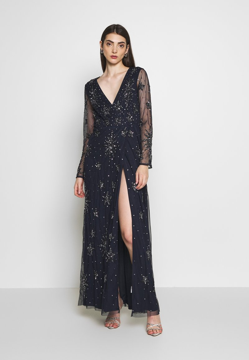 Lace & Beads - NADIA - Occasion wear - navy