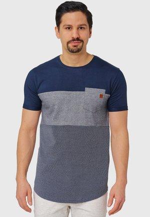 PORTER - Print T-shirt - navy