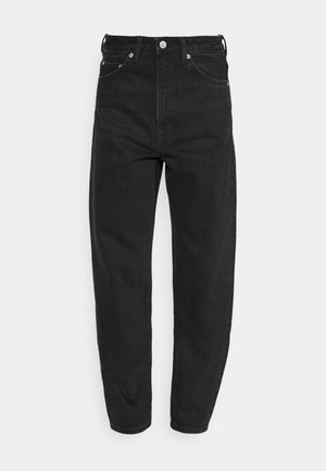 LASH - Džíny Relaxed Fit - washed black