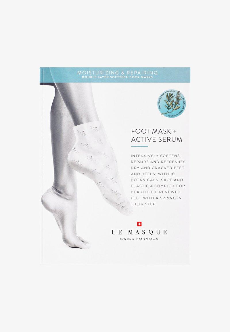 Le Masque Switzerland - MOISTURIZING & REPAIRING FOOT MASK - Masque pieds - -