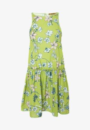 LAZUR - Vestido informal - hellgrün weiß