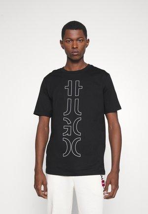 DARLON - Print T-shirt - black
