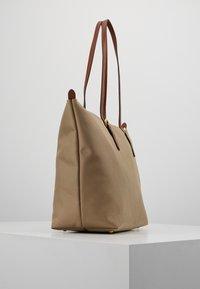 Lauren Ralph Lauren - KEATON TOTE-SMALL - Handbag - clay - 3