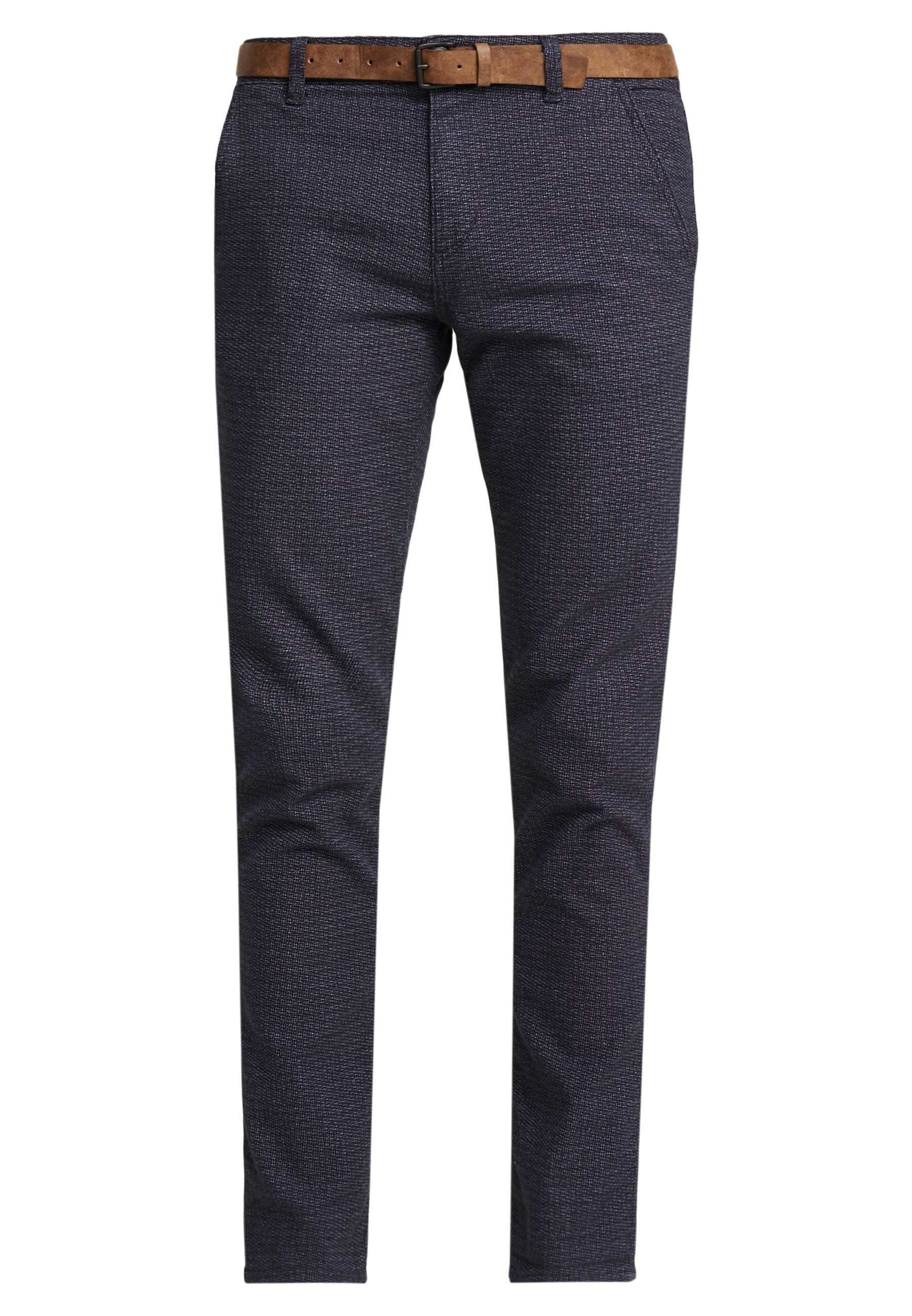TOM TAILOR DENIM STRUCTURED - Chino - navy grindel