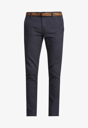STRUCTURED - Chino - navy grindel