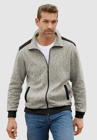 Roger Kent - Zip-up sweatshirt - grau,schwarz - 0