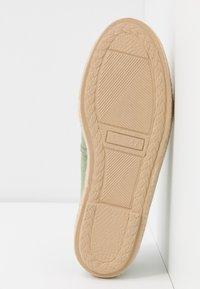 Grand Step Shoes - EVITA PLAIN PARIS - Espadrilles - mint - 6
