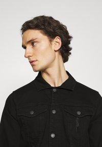 Denim Project - KASH DESTROY JACKET - Denim jacket - black - 3
