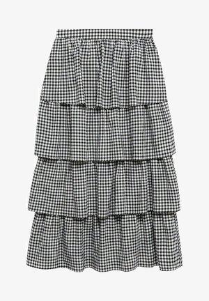 A-line skirt - czarny