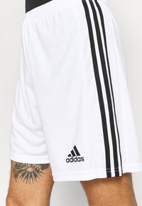adidas Performance - SQUADRA 21 - Pantalón corto de deporte - white/black - 4
