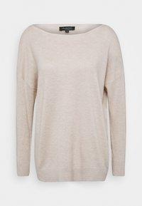 Selected Femme - SLFINKA  - Sweter - birch melange - 3