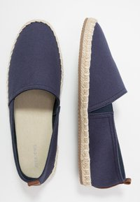 Pier One - Espadryle - dark blue - 1