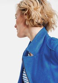 Gerry Weber - Faux leather jacket - aurora blue - 1