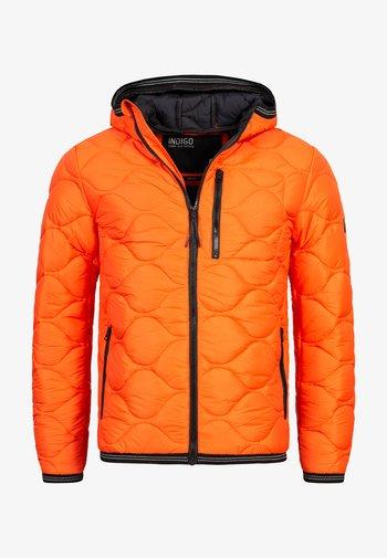 Winter jacket - orangeade