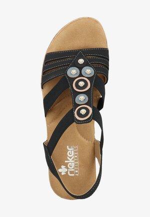 SANDALEN - Wedge sandals - pazifik 14