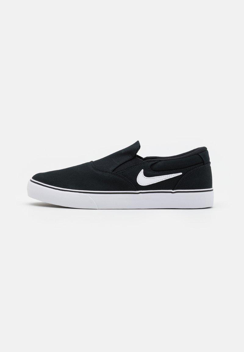 Nike SB - CHRON 2 UNISEX - Sneakers laag - black/white